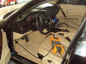 Δοκιμή διαγνωστικού OPS σε επιβατικό αυτοκίνητο